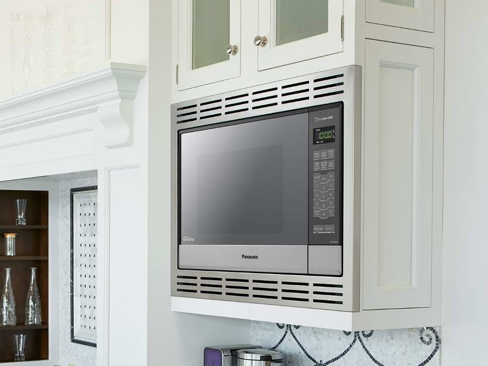Built In Microwave Size Guide Kitchen, What Size Cabinet For Under Microwave
