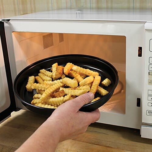 Microwave oven fries