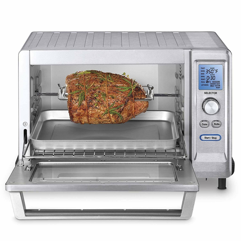 Rotisserie toaster ovn