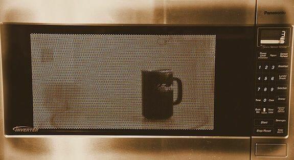 Microwave water