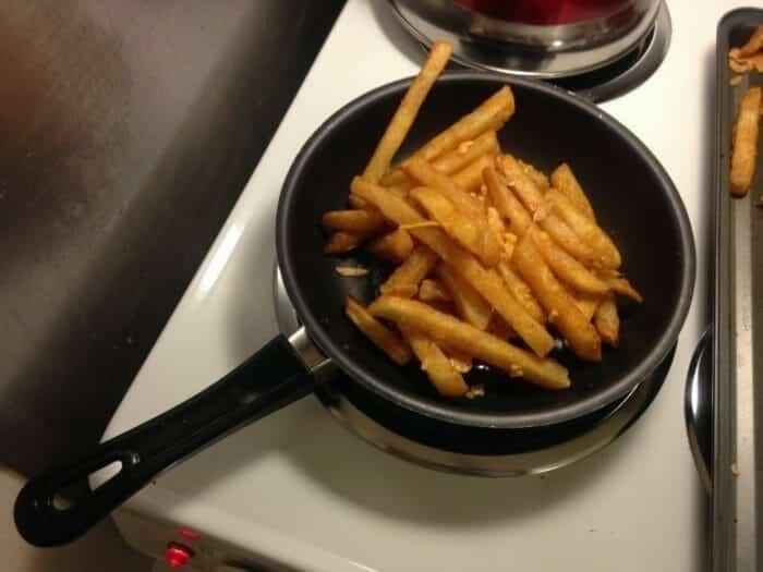 Fries in Skillet