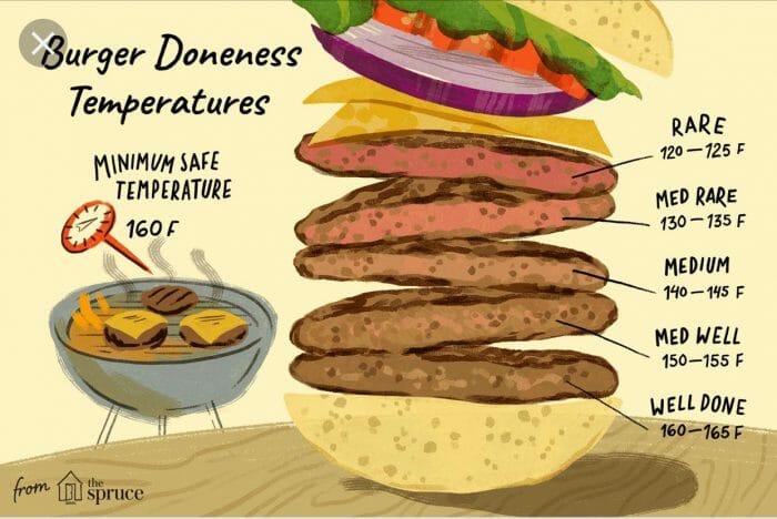Burger Temperatures