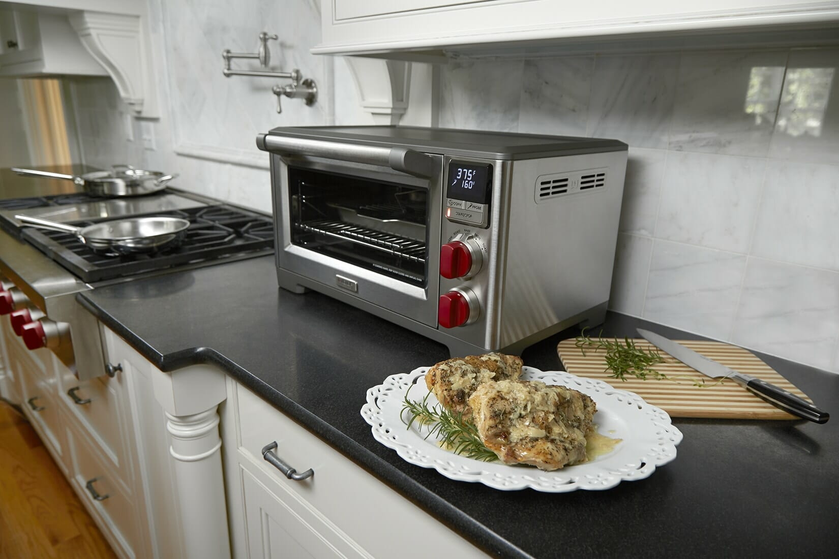 Chicken breast in toaster oven