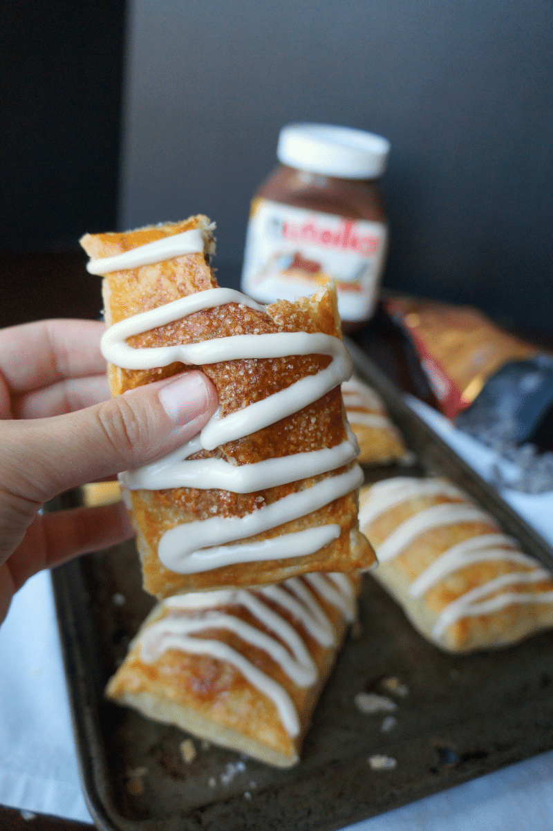 how to cook toaster strudel in oven