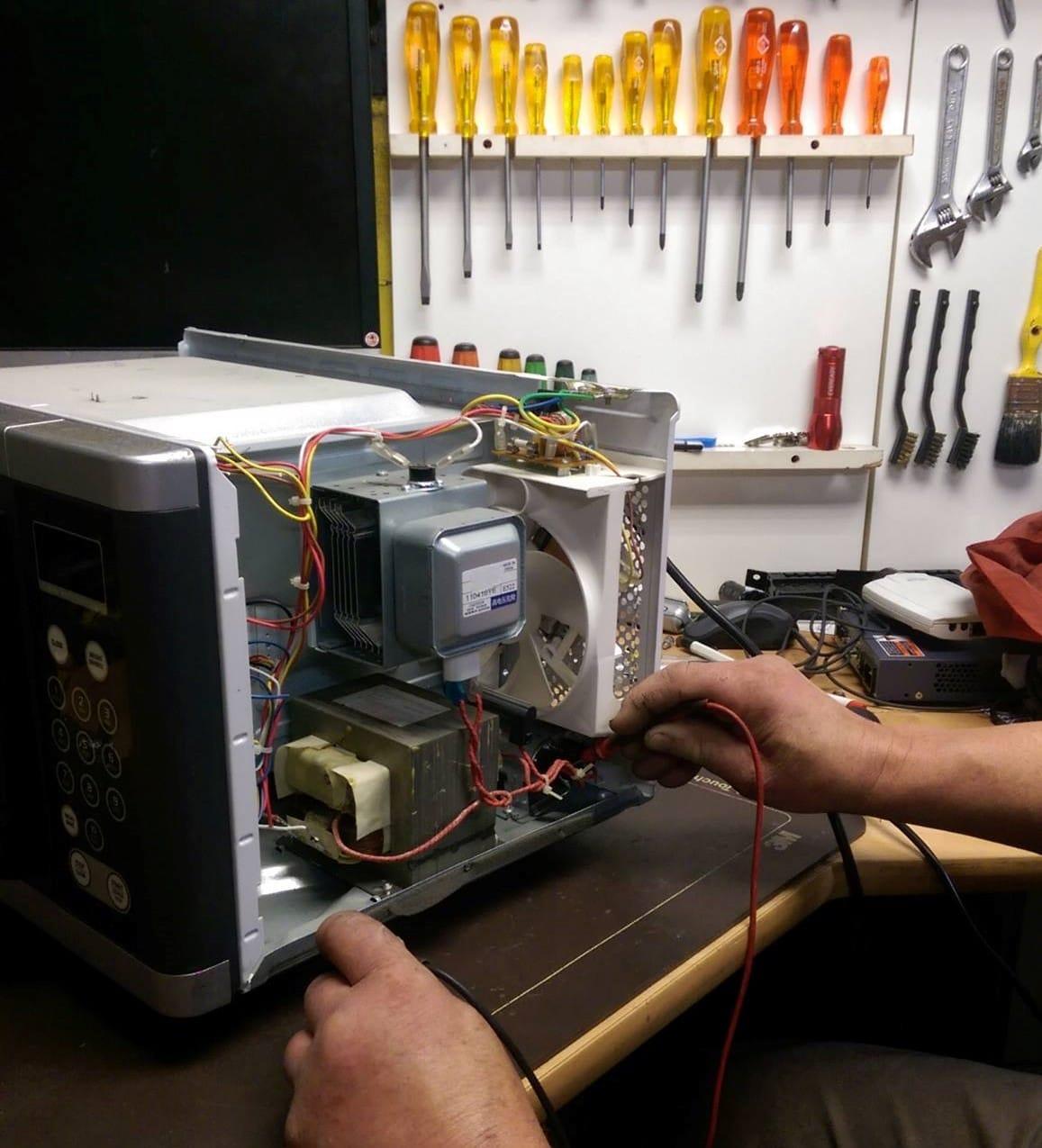 microwave oven repairing