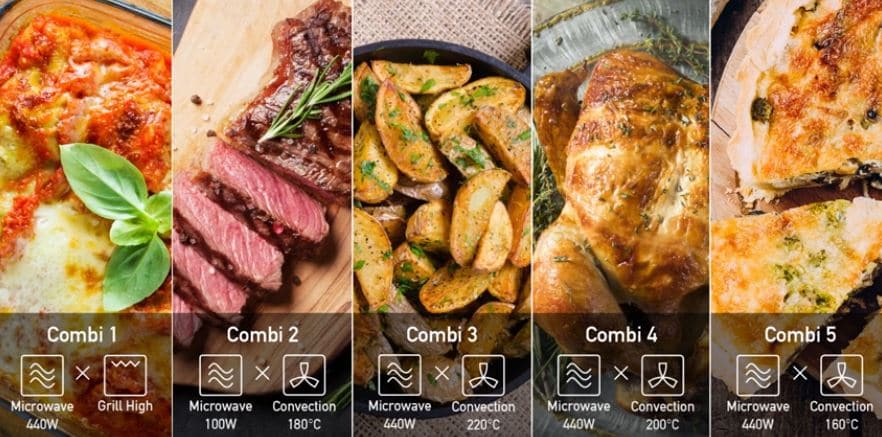 Combination cooking