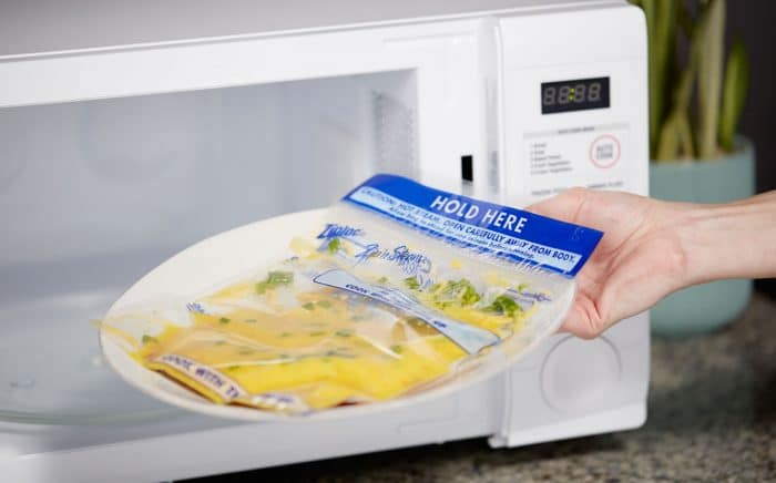 Microwave Ziploc