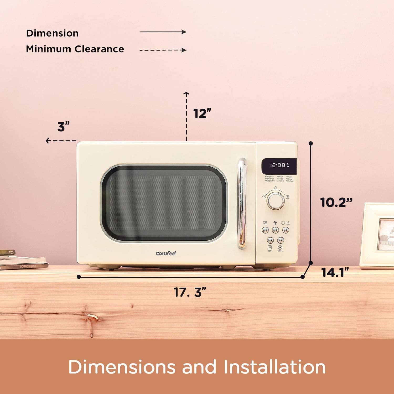 best retro microwave