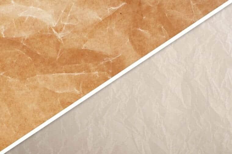was vs parchment paper