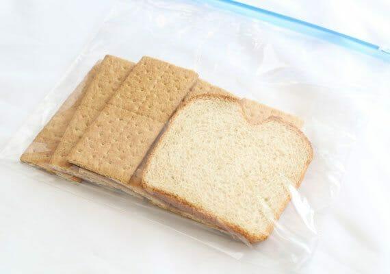 Bread in ziploc
