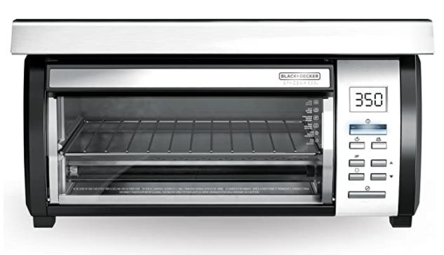 Black+Decker Spacemaker toaster oven