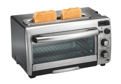 2 in 1 Hamilton Beach toaster oven