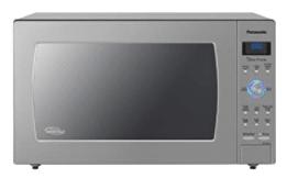 Panasonic grey microwave oven