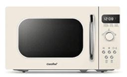 white retro microwave