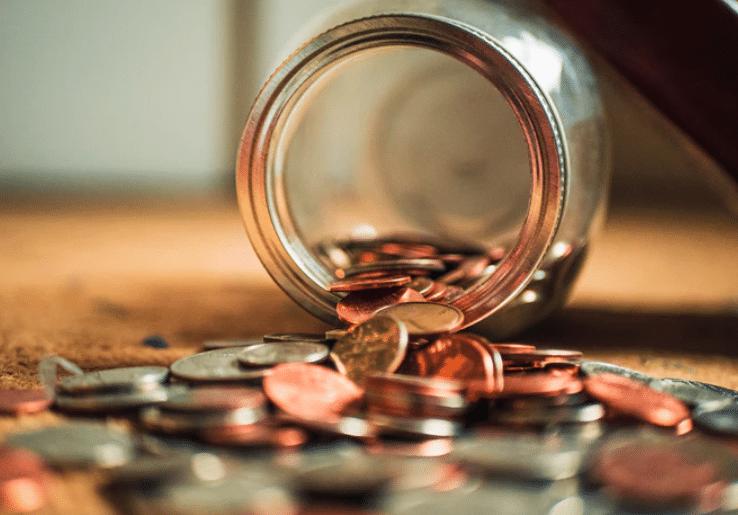 jar full of money